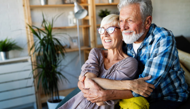 assisted living couple together